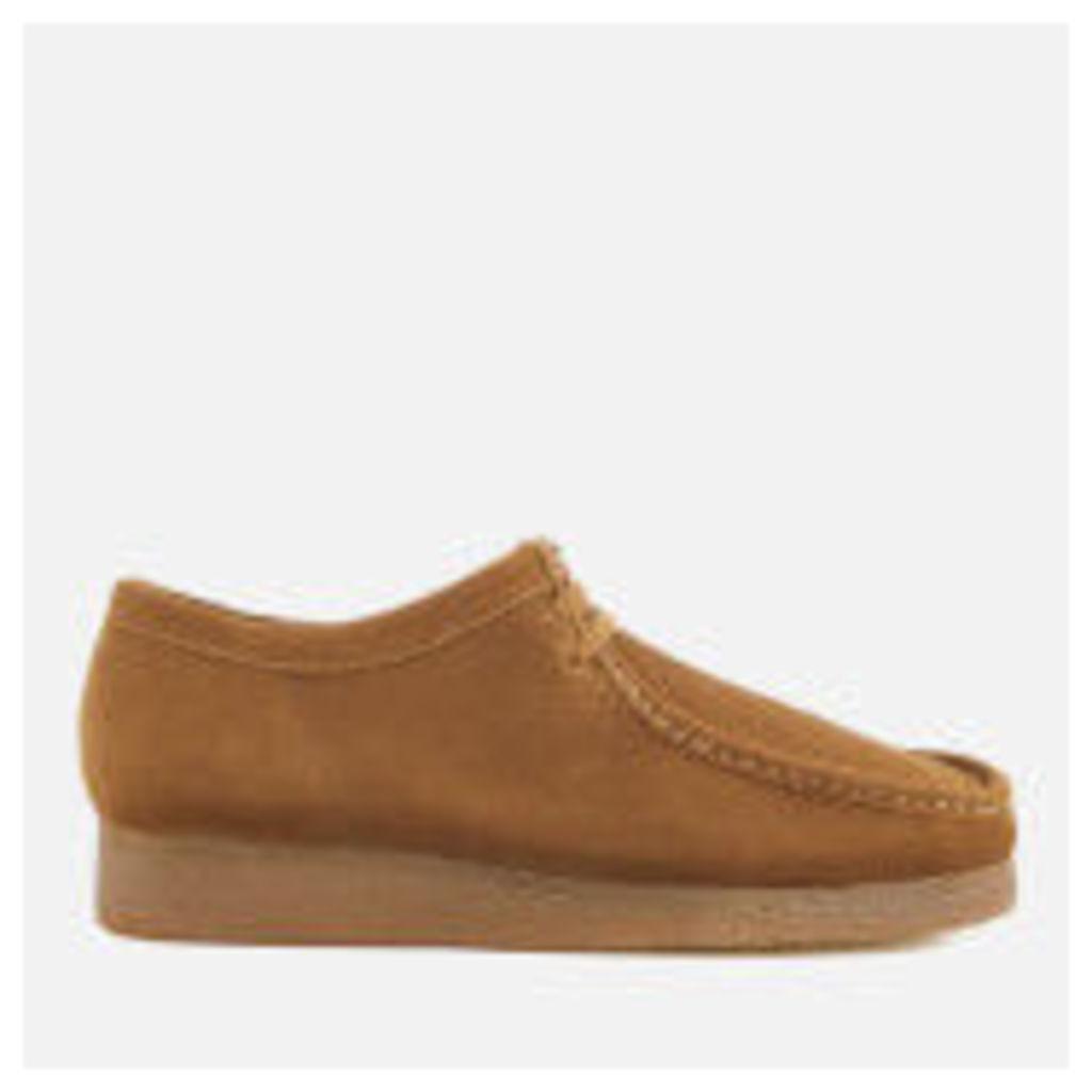 Clarks Originals Men's Wallabee Suede Shoes - Cola