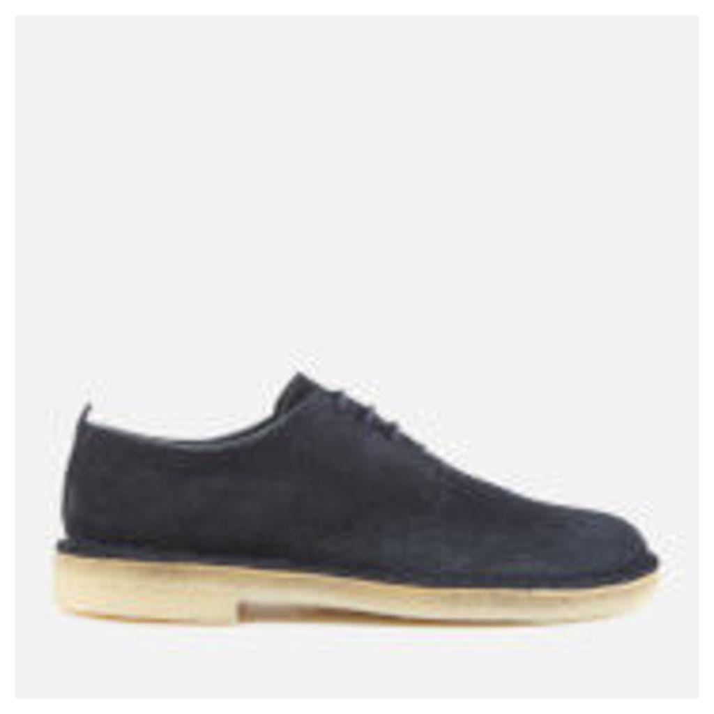 Clarks Originals Men's Desert London Suede Derby Shoes - Midnight