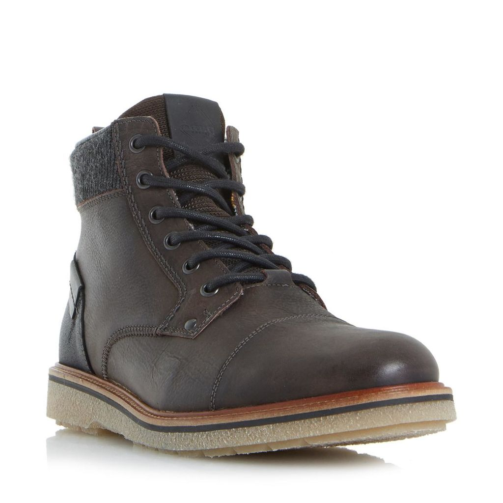 Cannister Crepe Sole Lace Up Boot