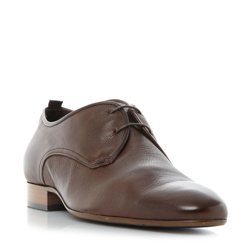 Peanut Almond Toe Gibson Shoe