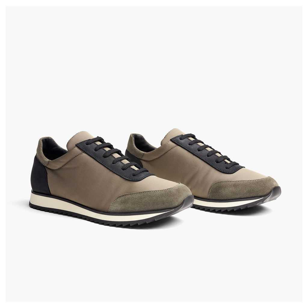 SYCAMORE LACE-UP NYLON RUNNER - MENS