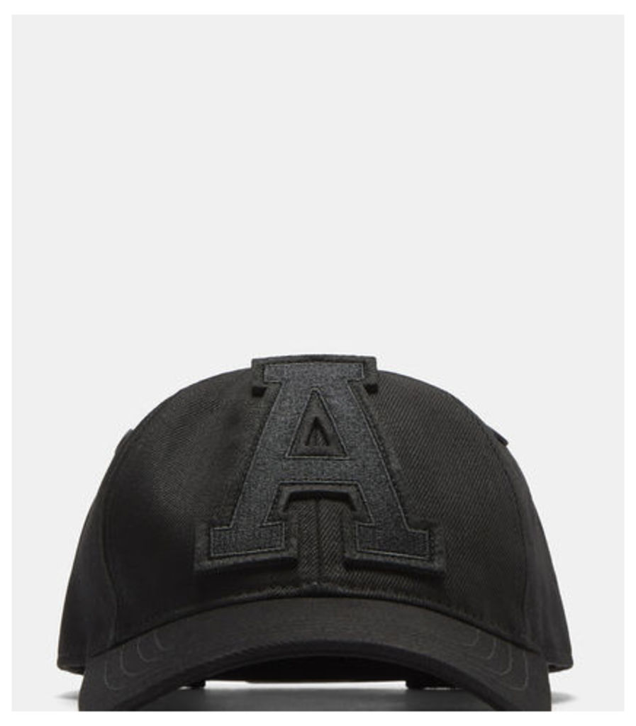 Six Panel Casquette Cap with 'A' Patch