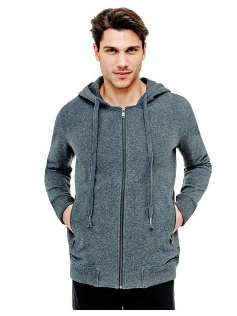 Guess Sweatshirt With Hood And Zip