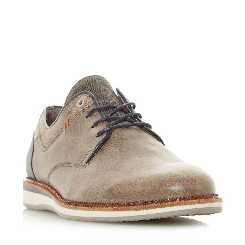 Bodyguard Casual Wedge Sole Gibson Shoe