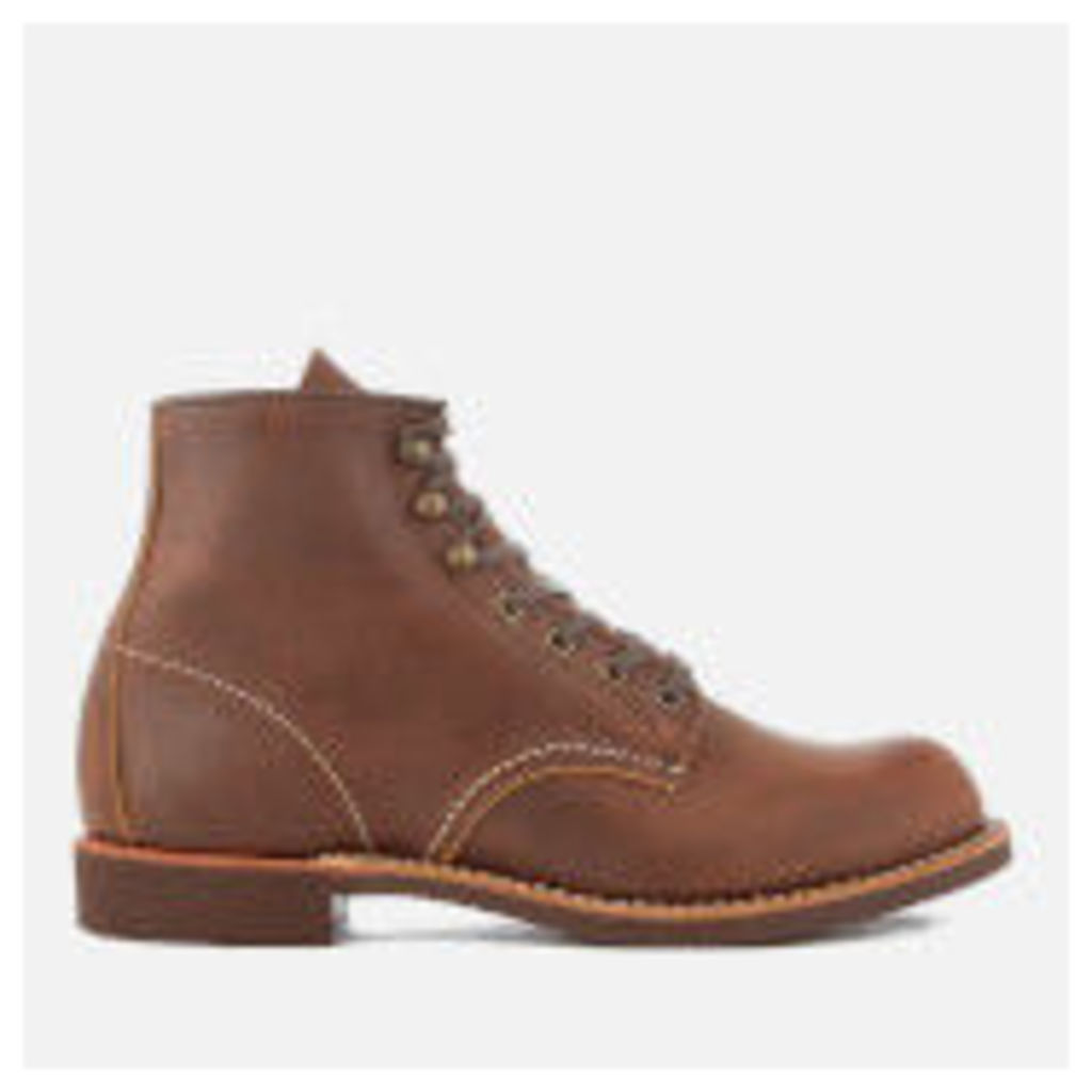 Red Wing Men's Blacksmith 6 Inch Leather Lace Up Boots - Copper