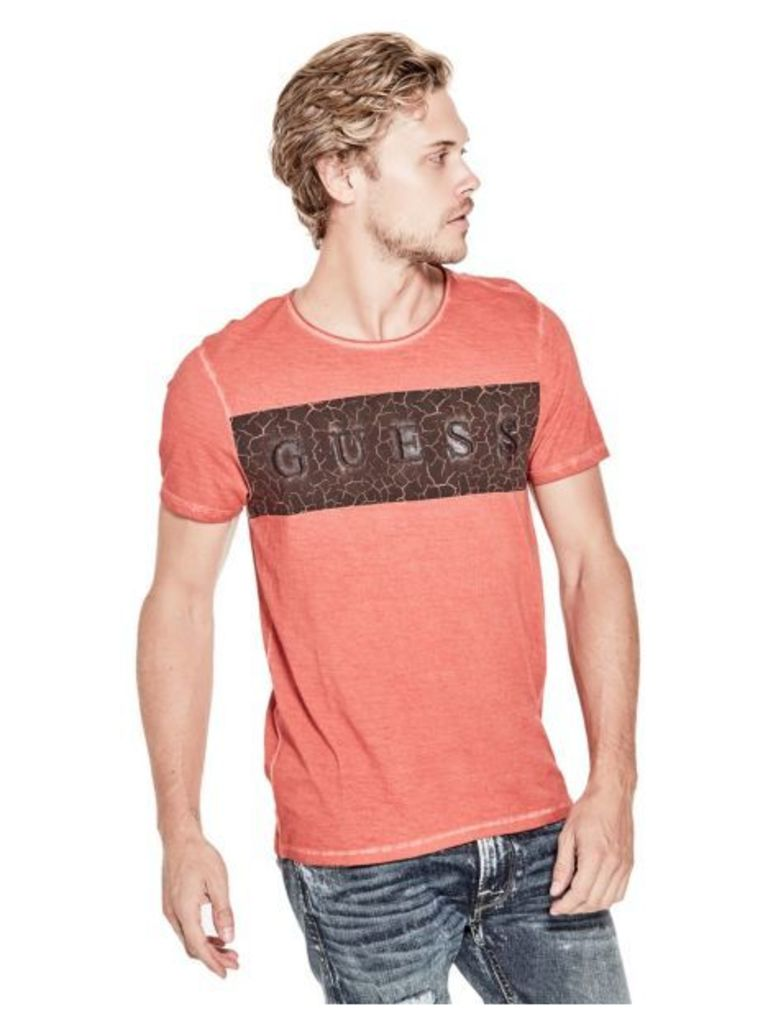 Guess T-Shirt With Raised Logo