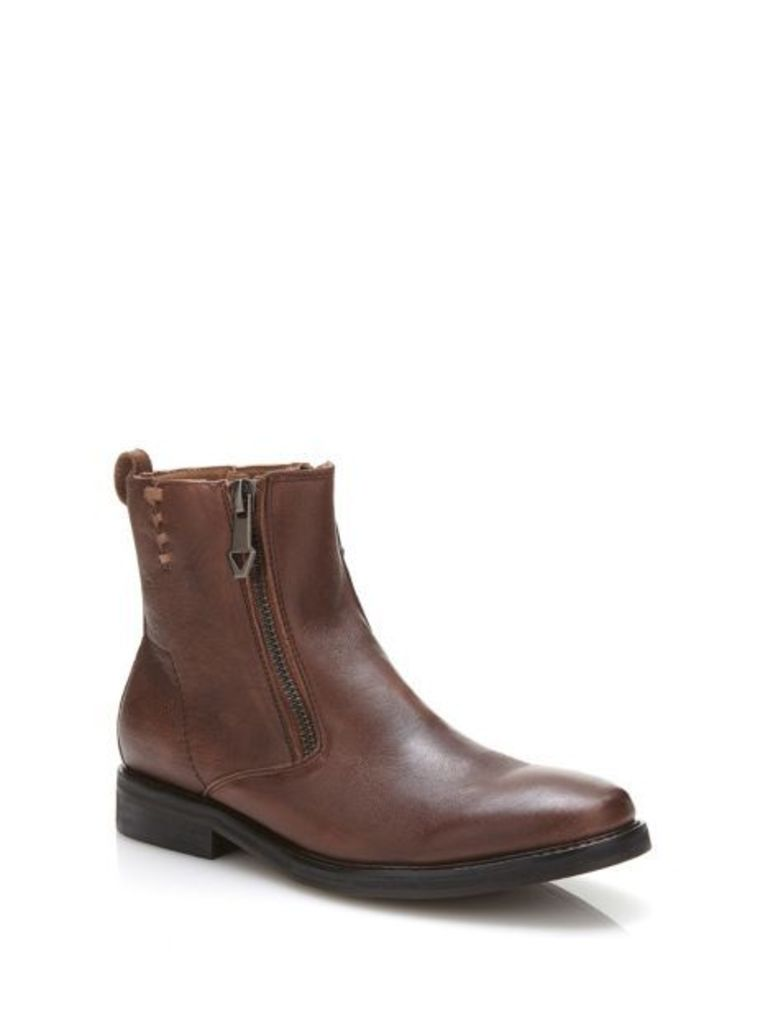 Guess Jears Leather Ankle Boot