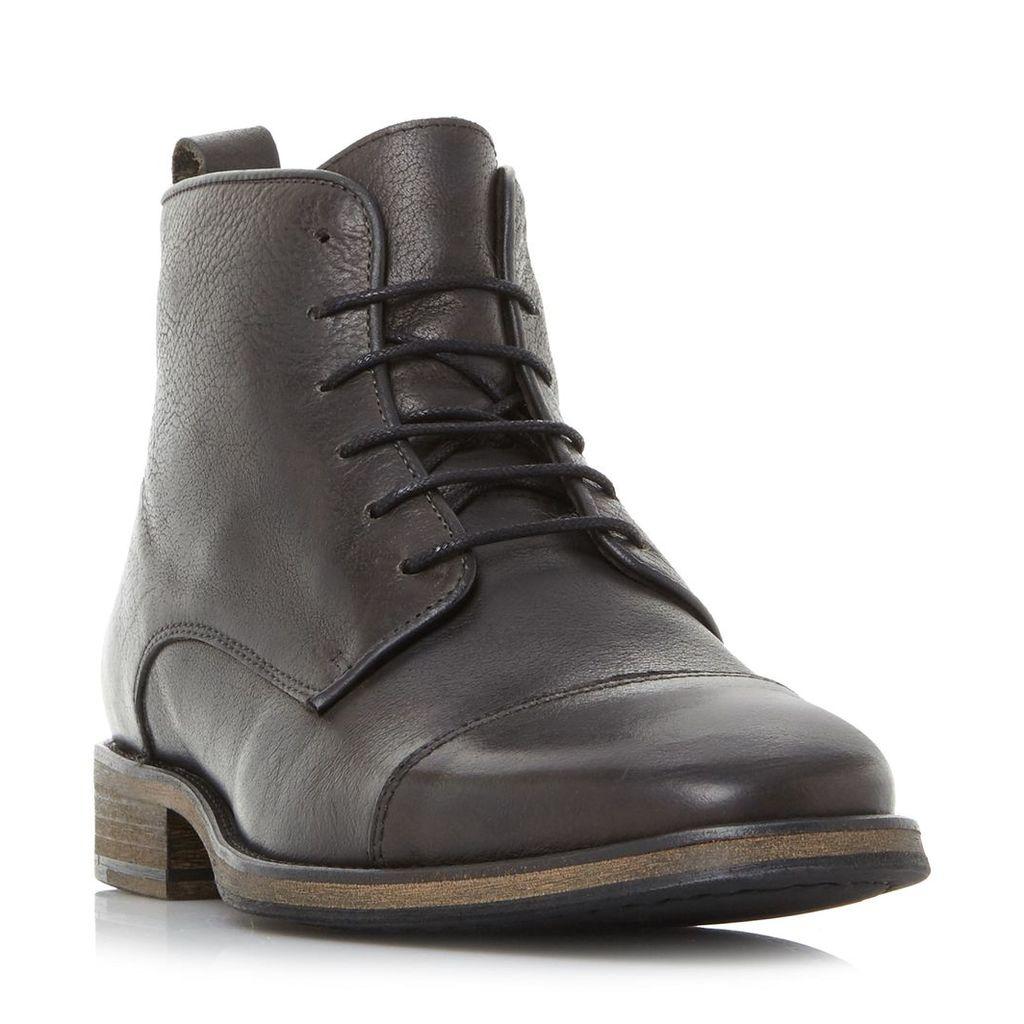 Claxon Toecap Lace Up Boot