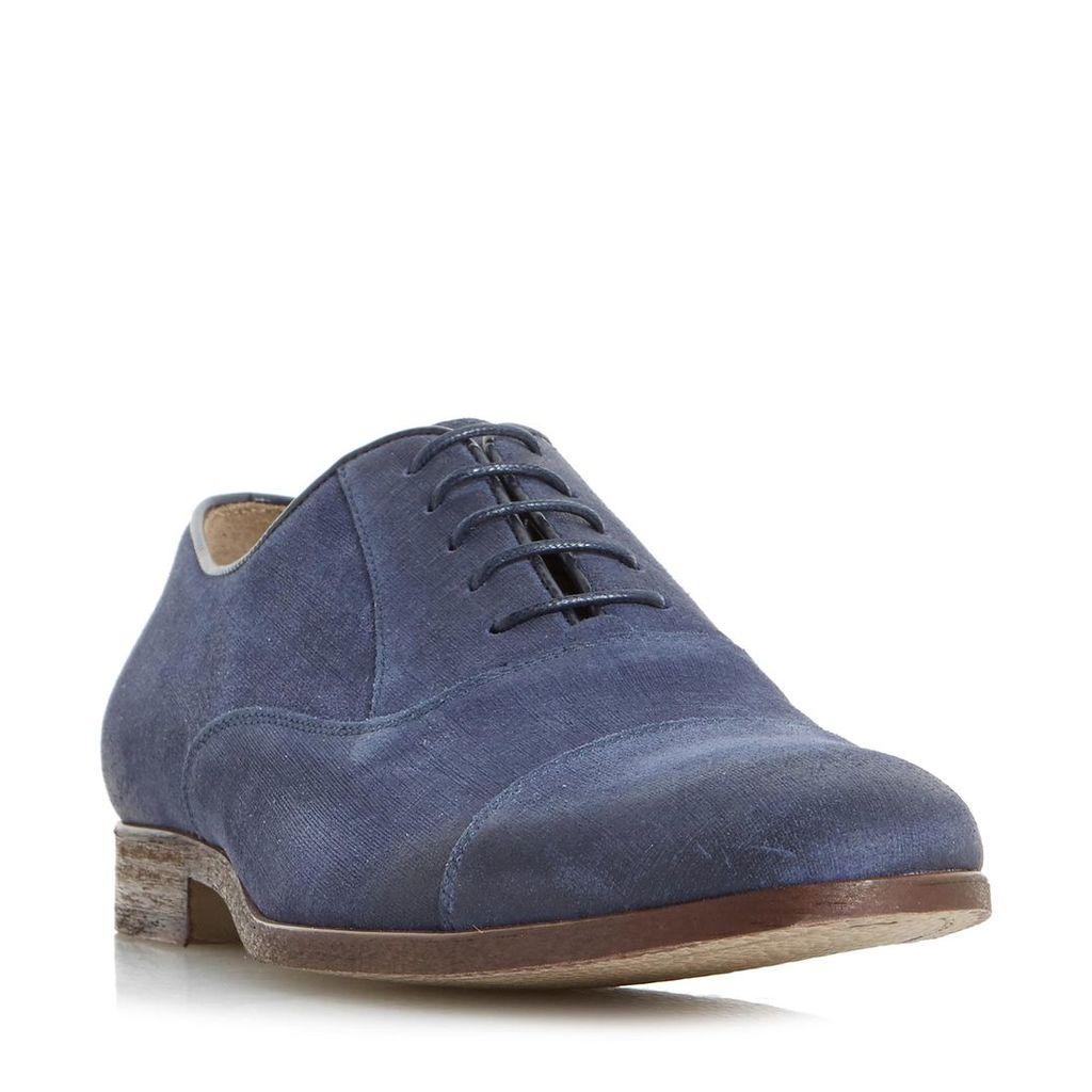 Penryn Linen Suede Toe Cap Shoe