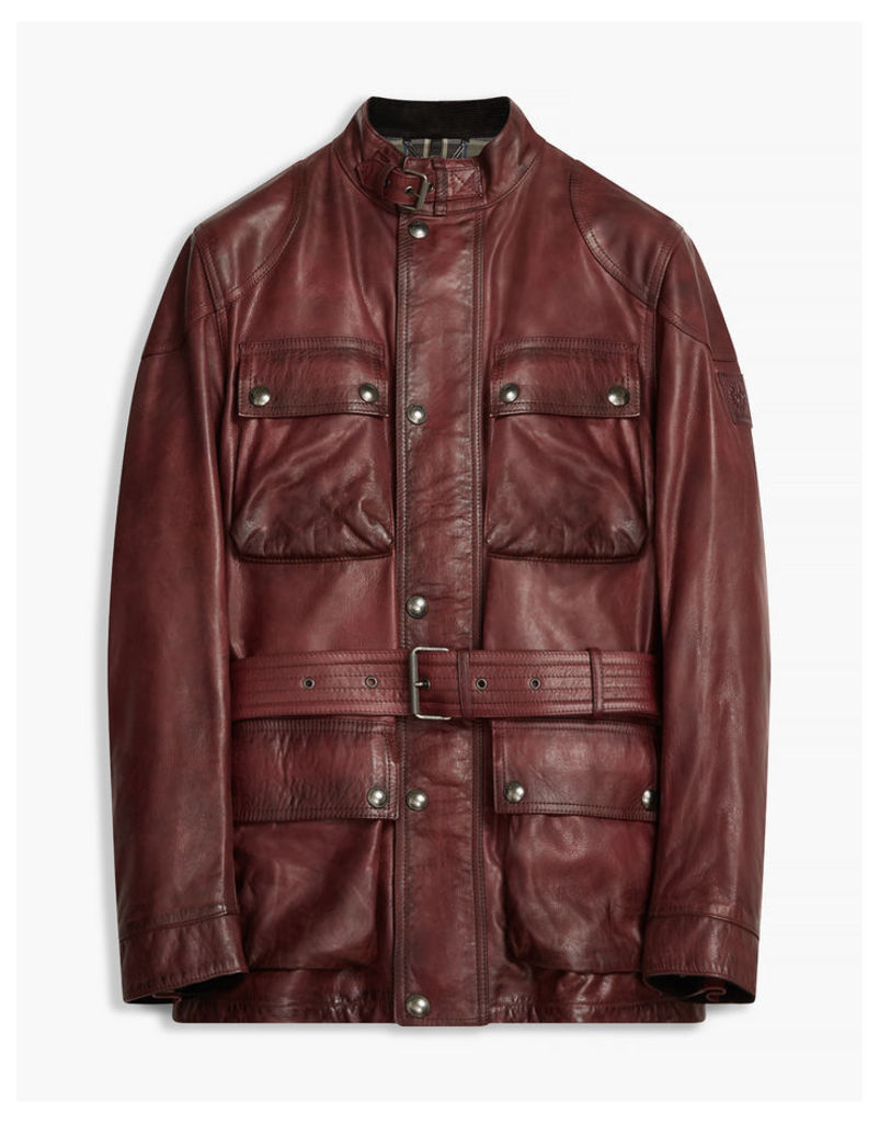 Belstaff The Panther Jacket Red