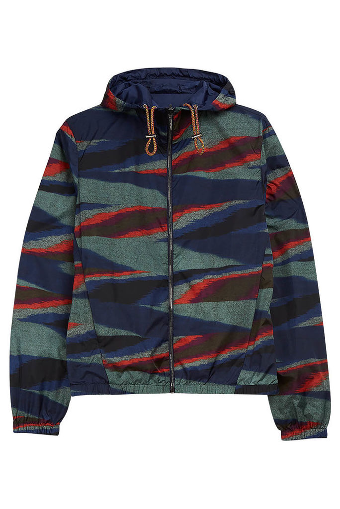 Missoni Reversible Printed Shell Hooded Jacket
