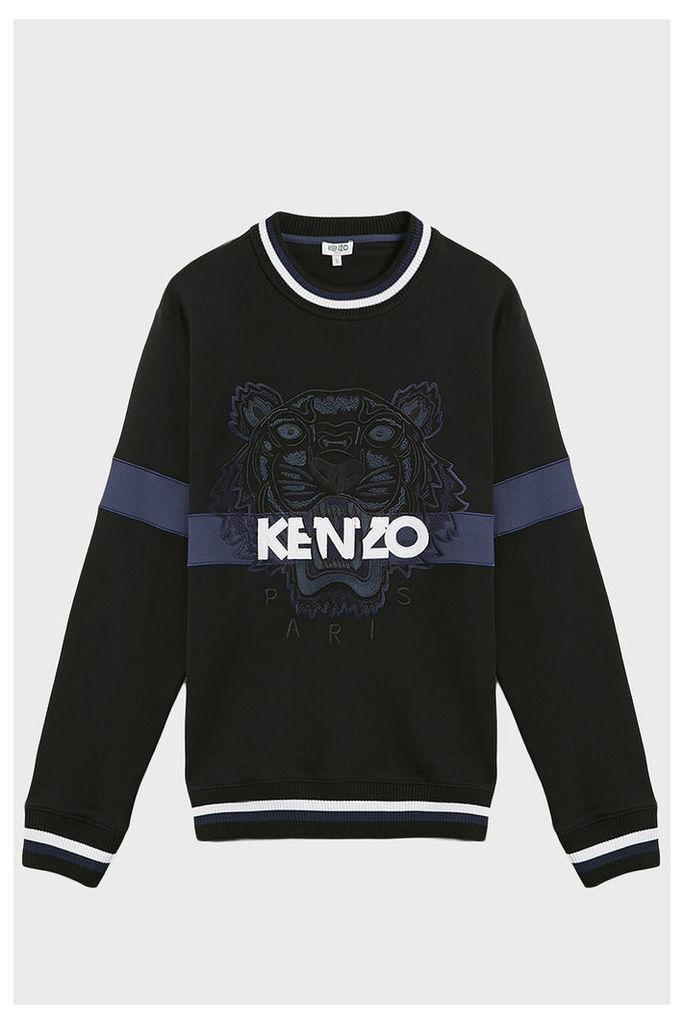 Kenzo Tiger Emblem Cotton Jumper