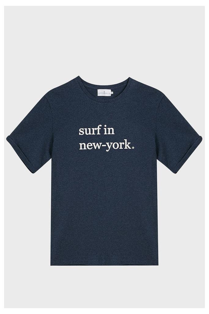 Cuisse De Grenouille Surf In NY Cotton T-Shirt