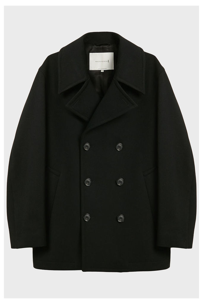 Mackintosh Double-Breasted Wool Pea Coat