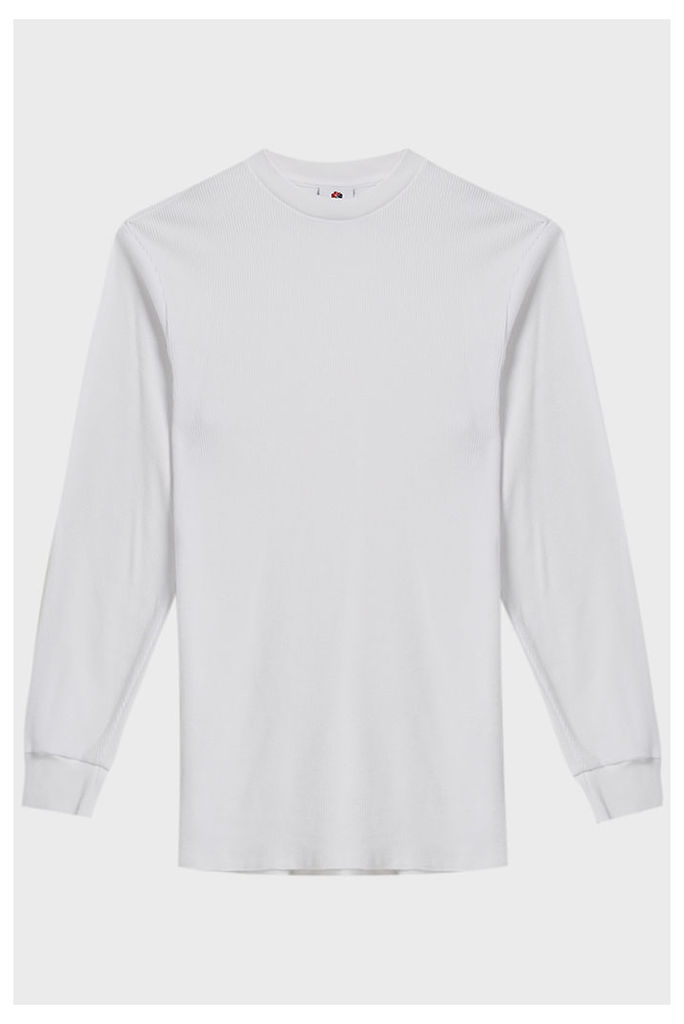 Aime Leon Dore Distressed Waffle Cotton T-Shirt