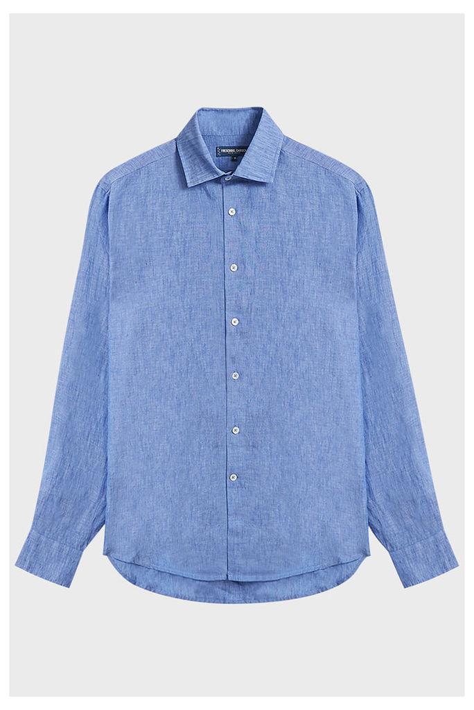 Frescobol Carioca Regular Linen Shirt