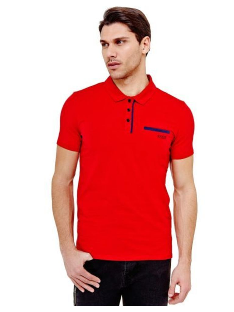 Guess Classic Polo Shirt With Pocket