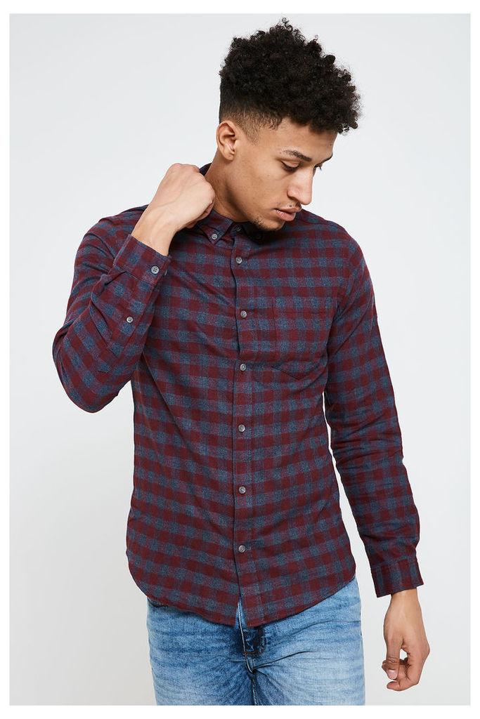 Jack & Jones Williams Long Sleeve Shirt - Red