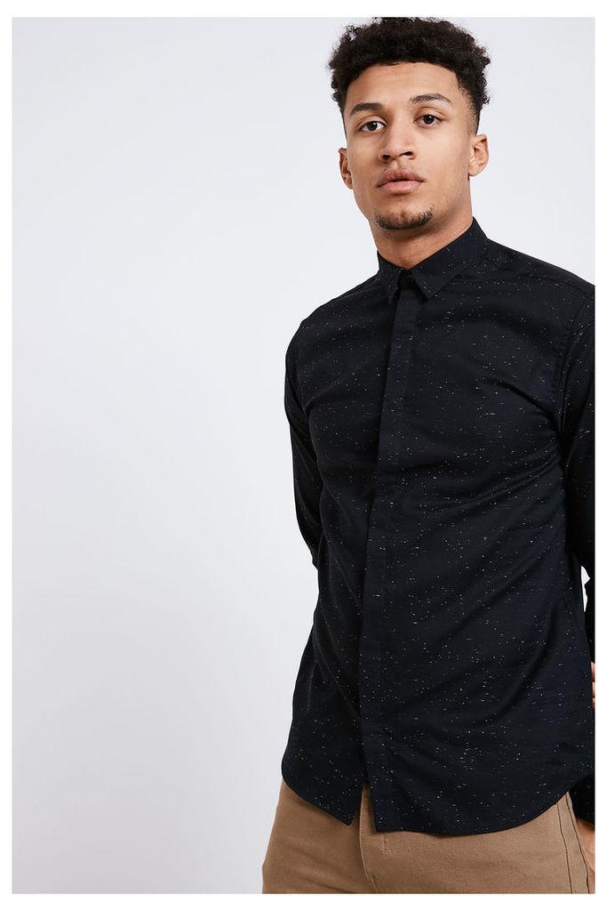 Jack & Jones Prasmus Long Sleeve Shirt - Black