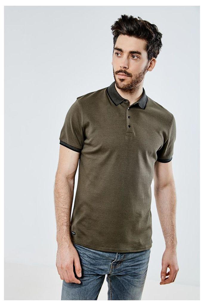 Threadbare River Polo Shirt - Green