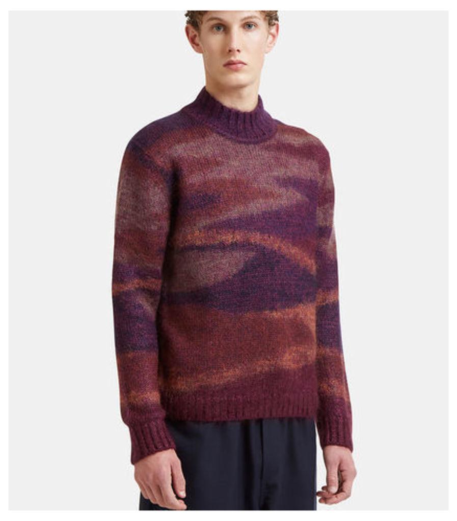 Stripe Intarsia Sweater