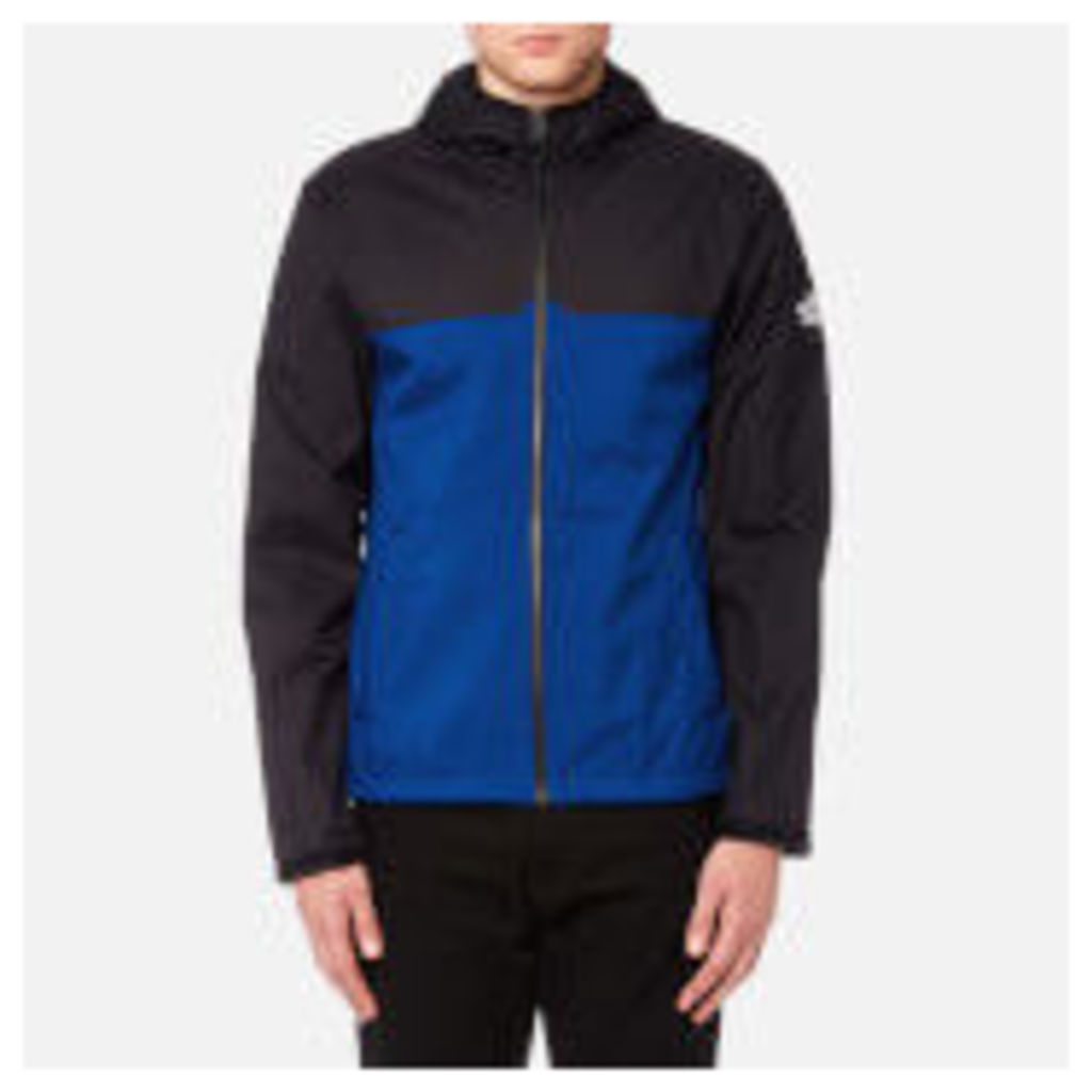 The North Face Men's West Peak Softshell Jacket - TNF Black/Bright Cobalt Blue - M - Blue