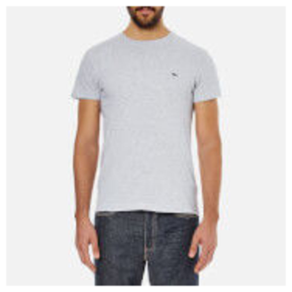 Lacoste Men's Short Sleeve Crew Neck T-Shirt - Silver Chine - L - Grey