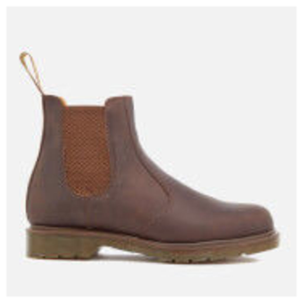 Dr. Martens Men's 2976 Crazyhorse Leather Chelsea Boots - Gaucho