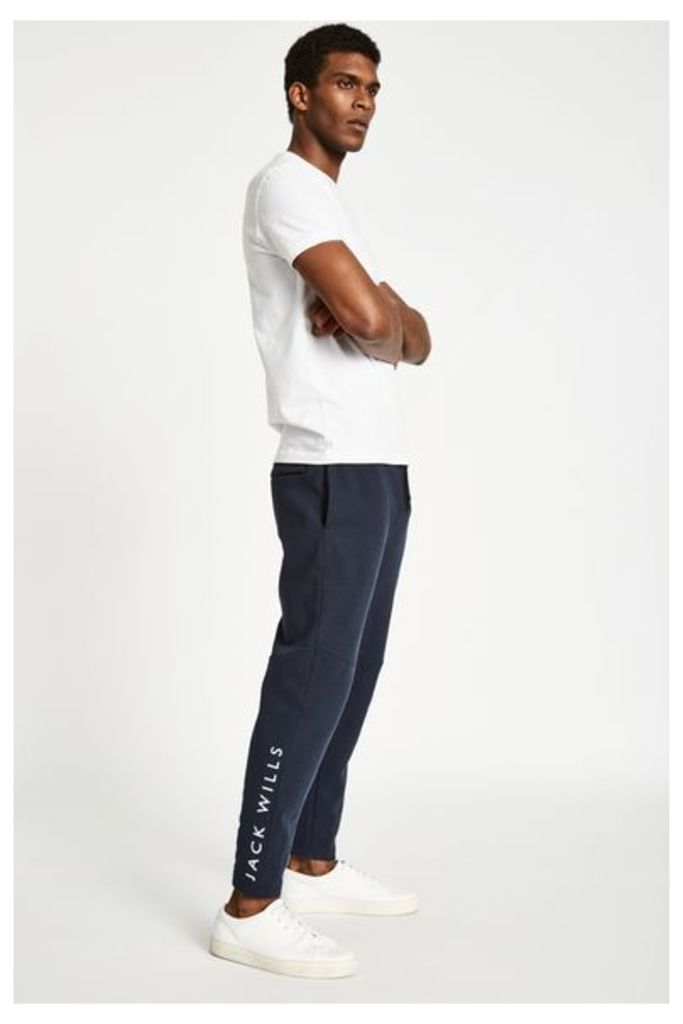 FETCHAM TAPERED GYM JOGGERS NAVY
