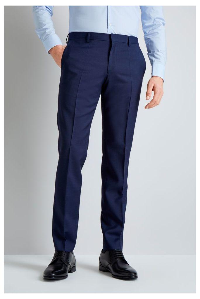 Navy Semi Plain Mix and Match Trousers