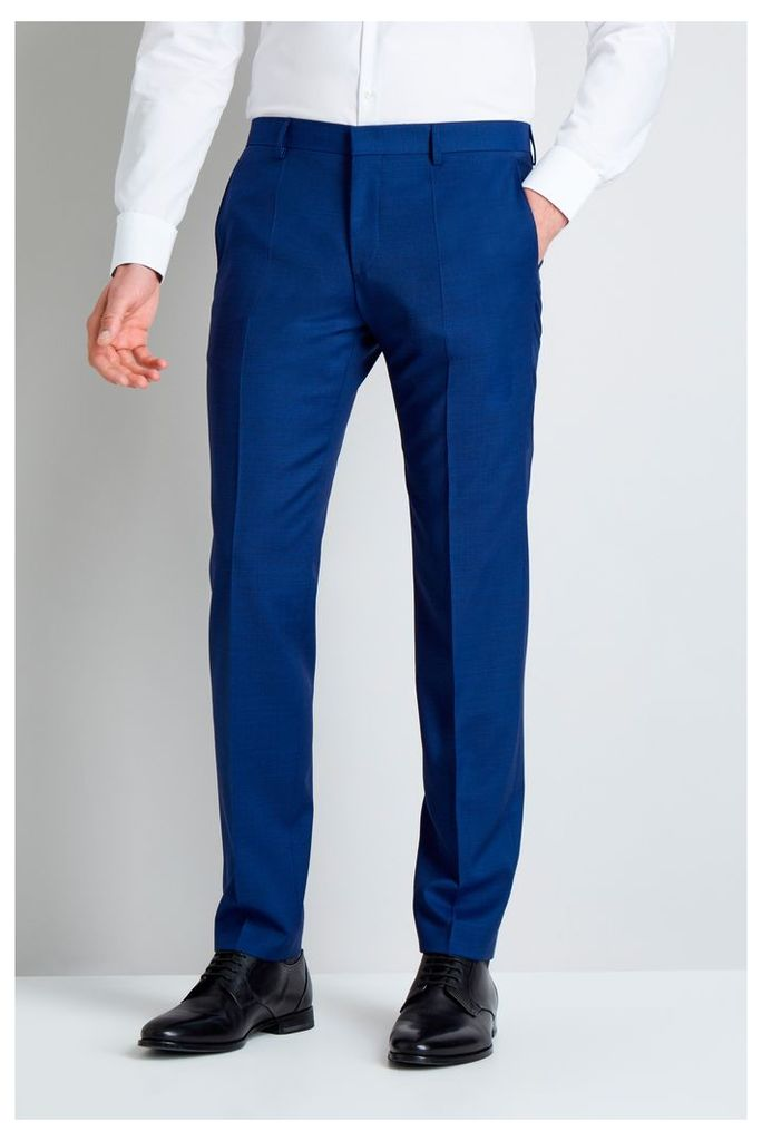 Bright Blue Pindot Mix and Match Trousers