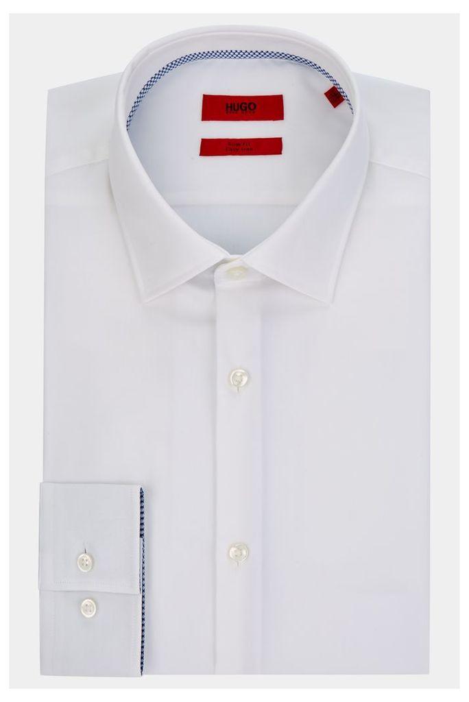 Hugo Boss Single Cuff Joey White Shirt