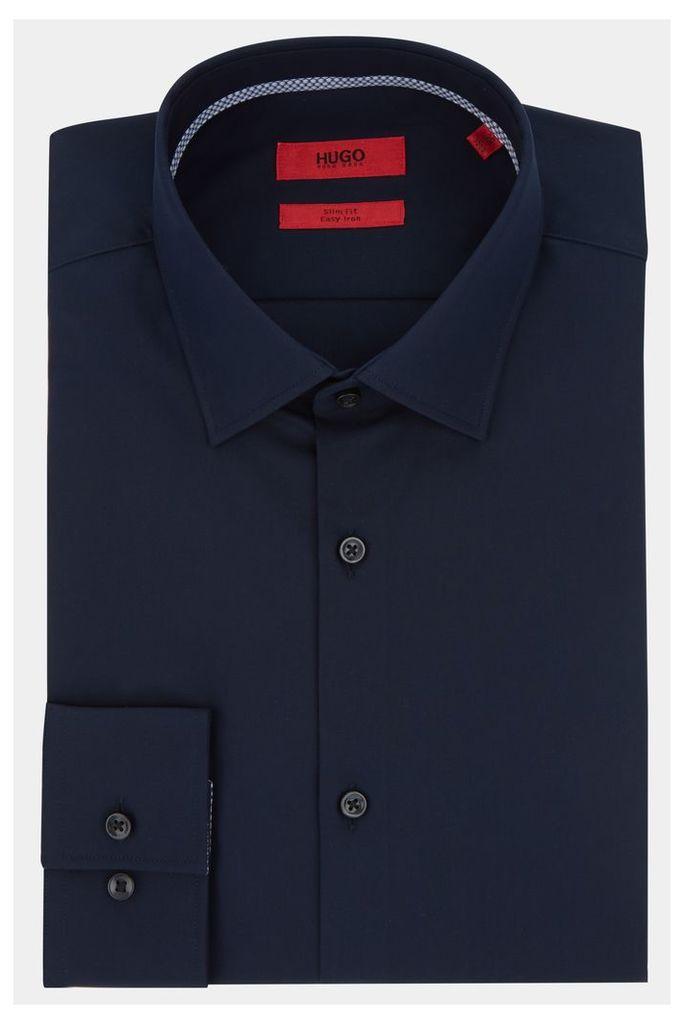 Hugo Boss Single Cuff Joey Navy Shirt