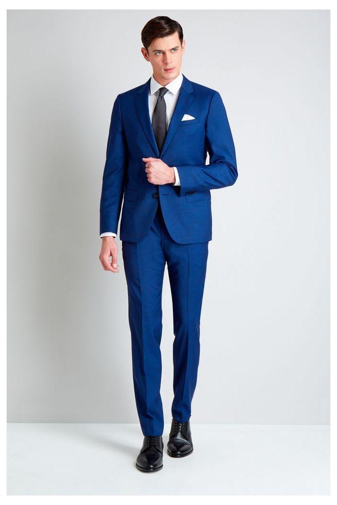 Hugo Boss Bright Blue Pindot Mix and Match Jacket