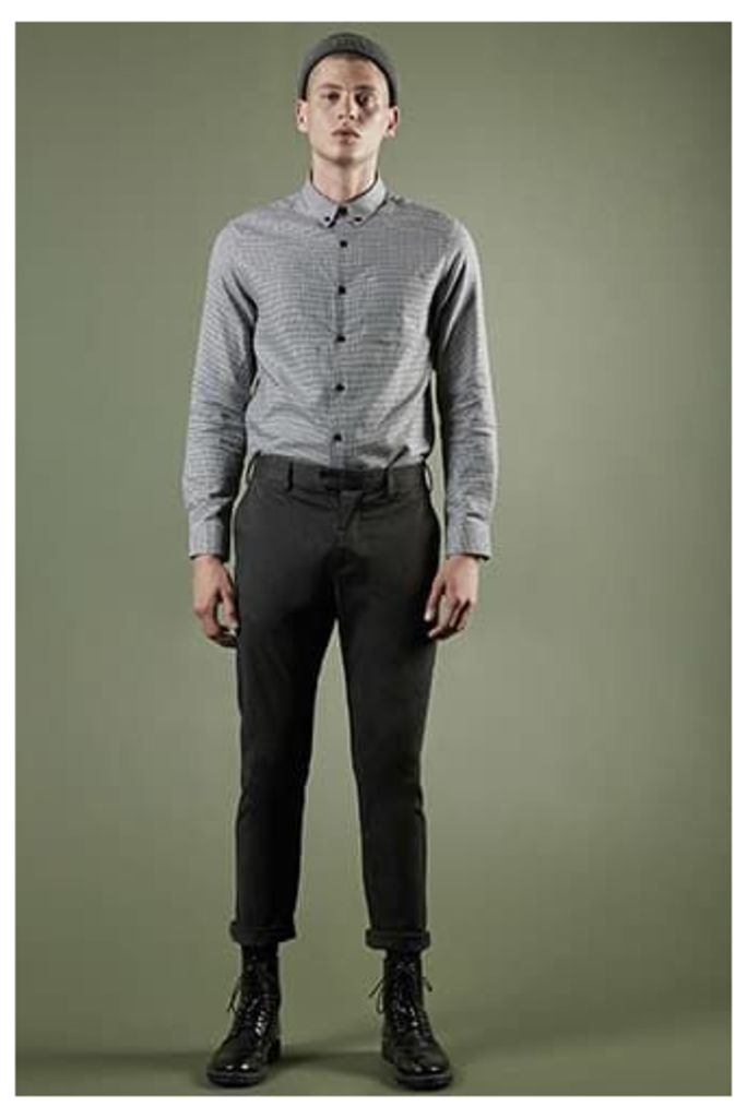 Slim-Fit Woven Trousers