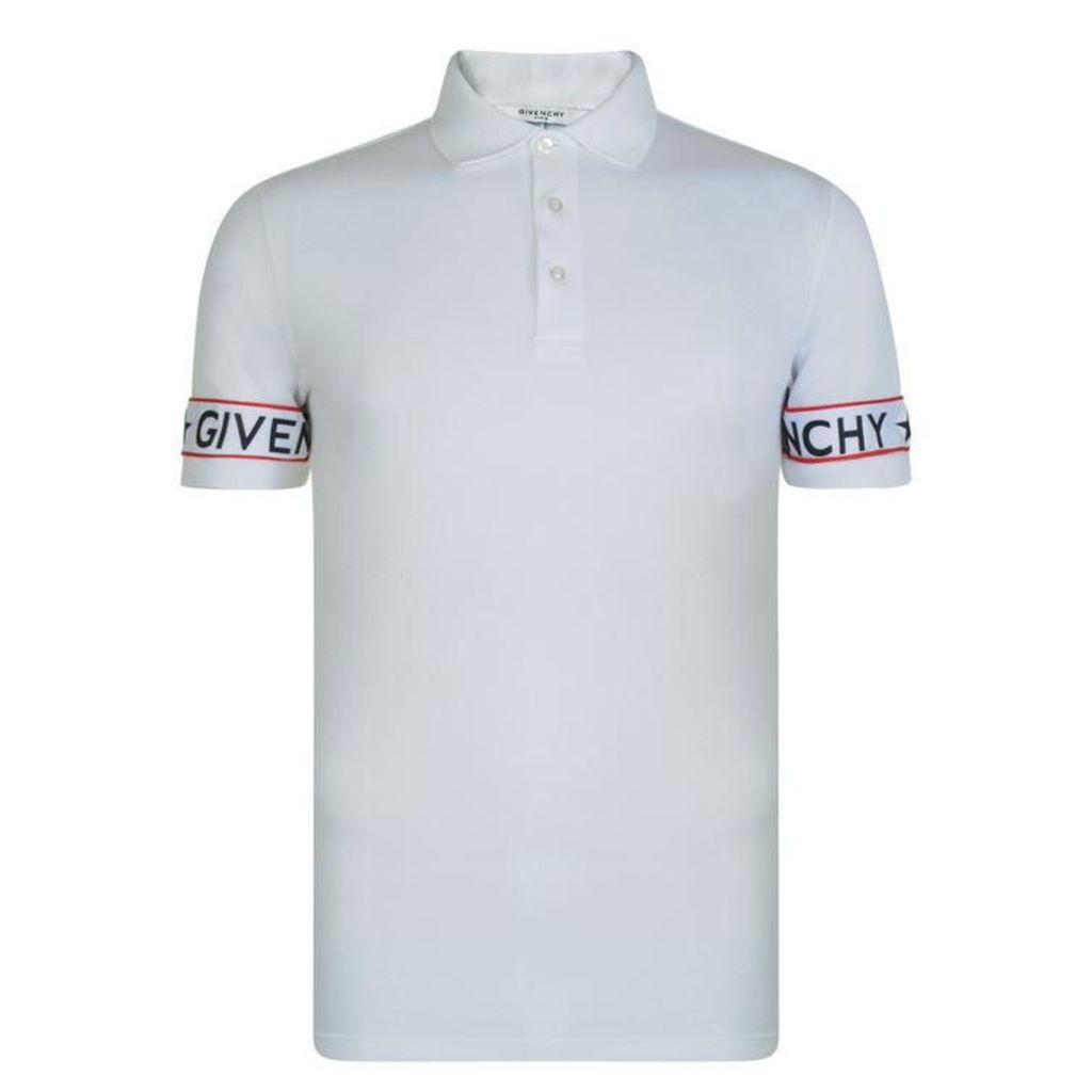 GIVENCHY Tape Polo Shirt