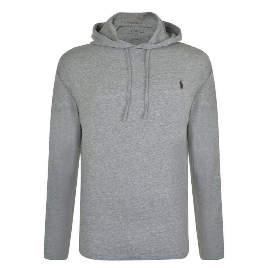 POLO RALPH LAUREN Washed Logo Hooded Sweatshirt