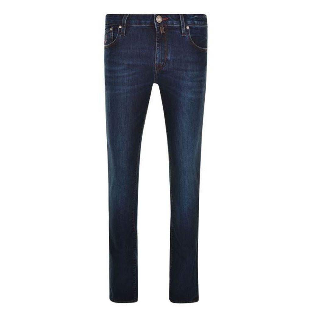 JACOB COHEN Distressed Jeans