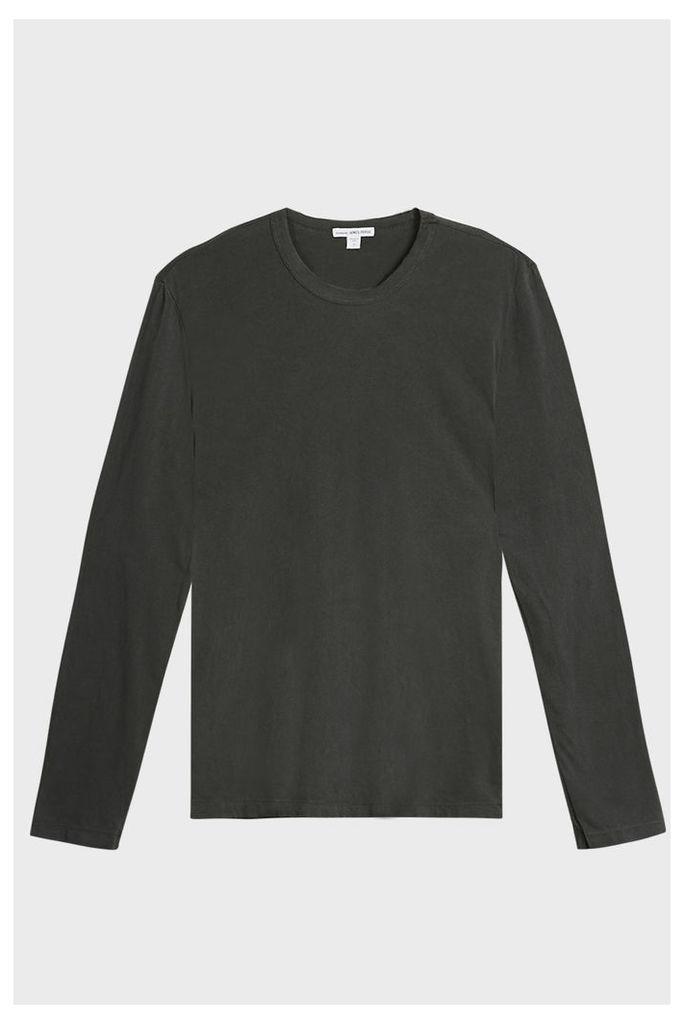 James Perse Crew Neck Jersey T-Shirt