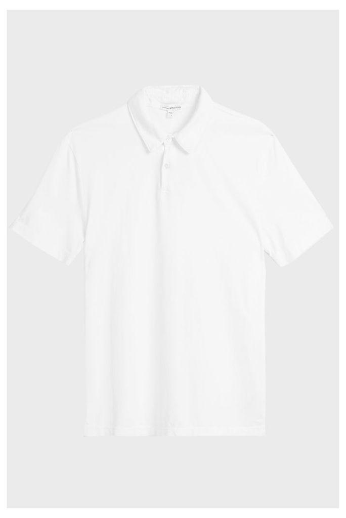 James Perse Standard Cotton Polo Shirt