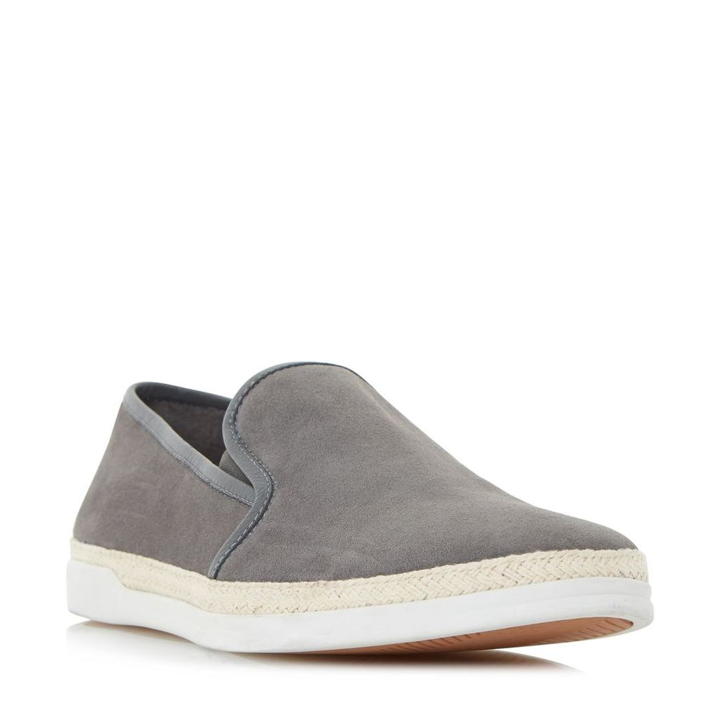 Benjamin Espadrille Detail Slip On Shoe