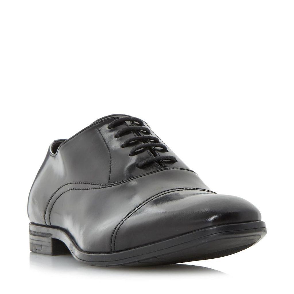 Pall Mall High Shine Toe Cap Detail Oxford Shoe