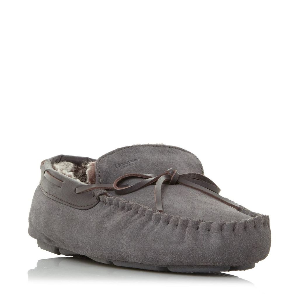 Freeze Warm Lined Driver Moccasin Slipper