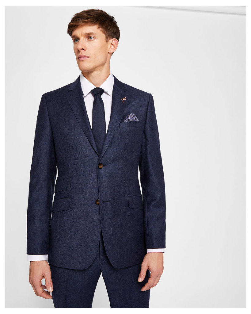 Ted Baker Sterling semi plain suit jacket Navy