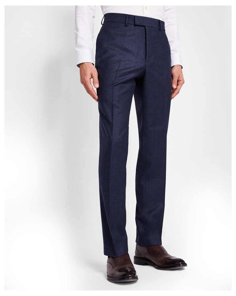 Ted Baker Sterling semi plain suit trousers Navy