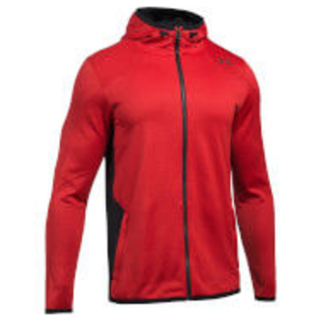 Under Armour Men's Reactor Full Zip Hoody - Red - M - Red