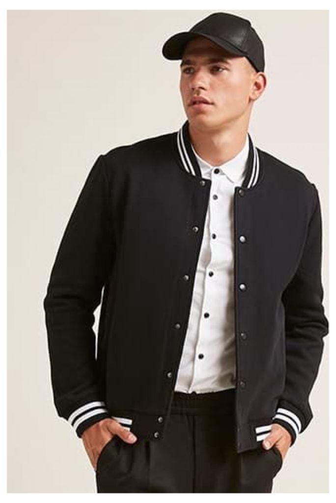 Striped Varsity Jacket