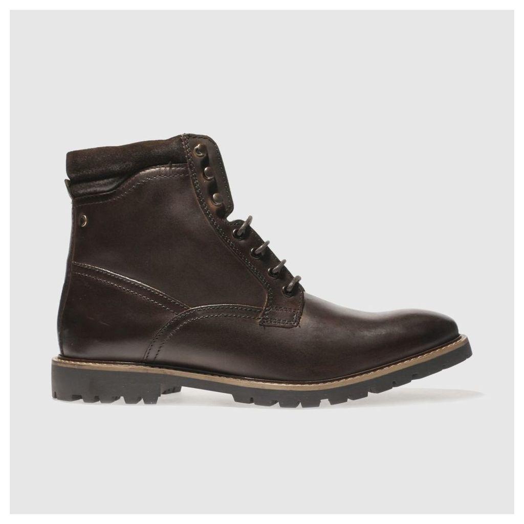 base london dark brown york boots