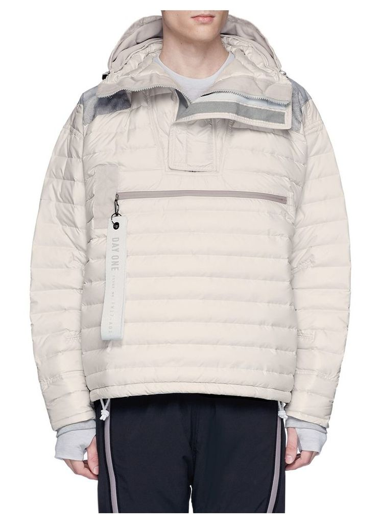 3-Stripes down puffer jacket
