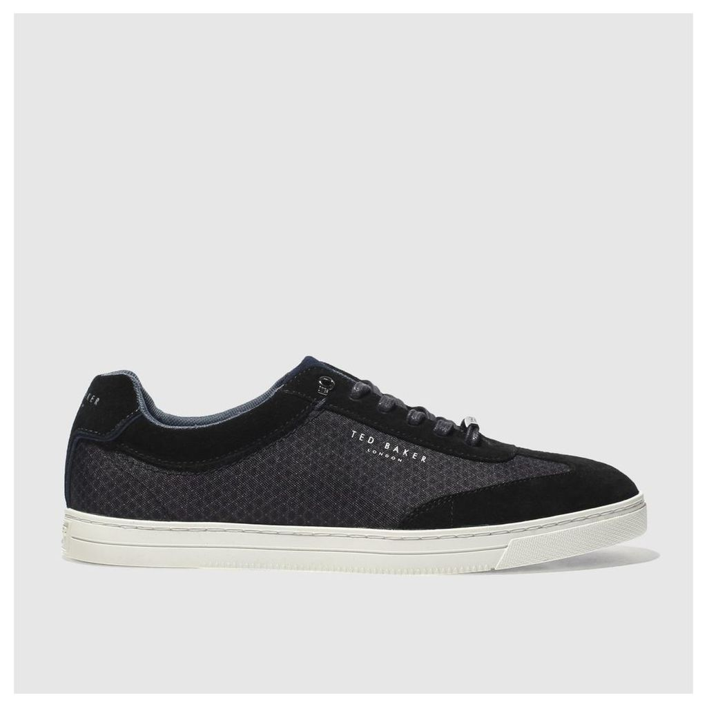 ted baker black phranco trainers